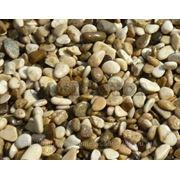 Галька речная каспийская светлая фр. 1-2,2-5,5-10,10-15,15-30 мм фото
