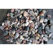 Галька разноцветная кавказская 5-20,40-70мм фото