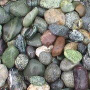 Галька речная цветная 25-60мм фото