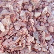 Крошка мраморная розовая в МКР (1тонна). фр. 10-20мм фото