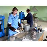 """Лабораторные испытания щебня для строительных работ """"Содержание пылевидных и глинистых частиц"""" фото"""