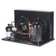 Охладители жидкости(ЧИЛЛЕРЫ) приспособлены для работы при температуре окружающей среды до +38°C при температуре выхода гликоля от -5 до +10°C. фото