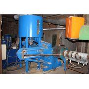 Гидравлический пресс для производства топливных брикетов. фото
