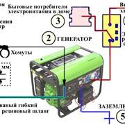 Подключение генератора фото