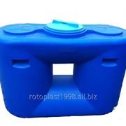 Емкость (бак, резервуар) 500,1000 и 2000 л универсальная пластиковая для воды и топлива фото