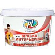 Краска Профилюкс PL-07А акриловая влагостойкая супербелая (40кг) фото