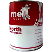 Эмаль по оцинкованному железу METTPLAST-NORTH-SPECIAL фото