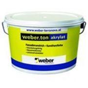 Weber.ton akrylat Фасадная акриловая краска (25кг) фото