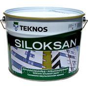 Текнос Силоксан (Teknos Siloksan) , 9л - Краска для стен и потолков, водная, матовая. фото