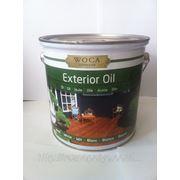 Масло WOCA для наружного использования, белое (Exterior Oil, White), 2,5 л. фото