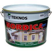 Нордика Эко, 9л - фасадная краска для дерева фото