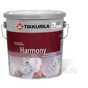 ГАРМОНИЯ ТИККУРИЛА (HARMONY TIKKURILA), 9л - бархатная краска для стен и потолков. фото