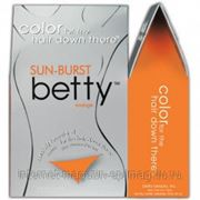 Краска для бикини-дизайна оранжевая фото