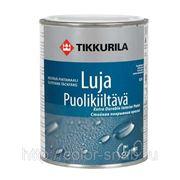ЛУЯ ТИККУРИЛА (LUJA TIKKURILA), (Полуматовая) 9л - моющаяся краска для стен и потолков фото