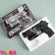 Оружие пневматическое пистолет с лазером 01-bb0122 фото