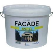 """Фасадная краска """"Facade Acryl"""" база А 0,94л фото"""