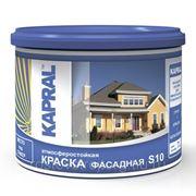 Краска KAPRAL S10 фасадная 42 кг фото