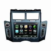 Автомобильный GPS навигации для Toyota Yaris, 6.2-дюймовый WVGA Digital TFT LCD фото