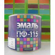 """ЭМАЛЬ ПФ-115 ТУ """"ЦВЕТОГАММА"""" серая, коричневая, черная 2,8кг."""