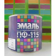 """ЭМАЛЬ ПФ-115 ТУ """"ЦВЕТОГАММА"""" салатная, голубая 2,8кг. фото"""