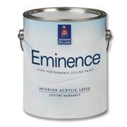 Экстрабелая матовая краска для потолков Эминенс / Eminence (Бриллианс / Brilliance®), 3,78 л. США фото