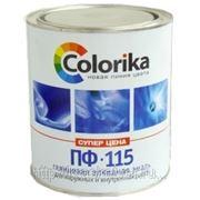 Эмаль ПФ-115 Colorika голубая, 22кг фото