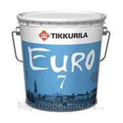 Латексная краска ЕВРО-7 (9л) фото