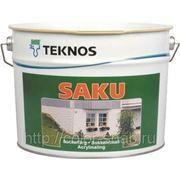 Текнос Цаку (Teknos Saku) - Фасадная цокольная краска. фото