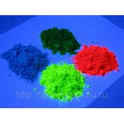 Флуоресцентный пигмент фото