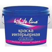 Краска водно-дисперсионная интерьерная «WHITE LINE» 3кг. фото