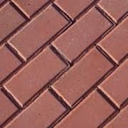Плитка тротуарная «Кирпичик» серая/цветная 200x100x60 фото