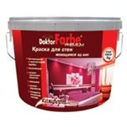 Краска Водно-Дисперсионная «Doktor Farbe» — БИО для стен моющаяся 14кг. фото