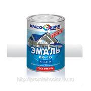 ЭМАЛЬ ПФ-115 (ГОСТ 6465-76) черная 0,9кг. фото