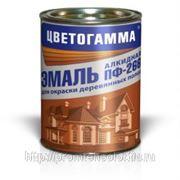 Эмаль ПФ-266 ТУ для полов желто-коричневая 25 кг. фото