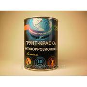 Грунт-Краска антикоррозионная ВД-АК-125 красно-коричневая RAL 3016 20 кг фото