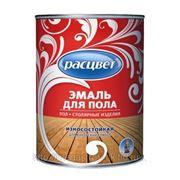 """Эмаль """"Расцвет"""" для пола 0,9 кг (золотисто-коричневая) фото"""