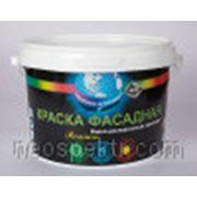 Краска фасадная водоотталкивающая ВД-АК-118 супербелая 16 кг фото