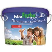 Краска водно-дисперсионная акриловая для детских комнат «Doctor Farbe» фото