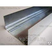 Профиль для гипсокартона Н-4 /3м/ 75х40 направляющий (уп. 12шт) , шт фото