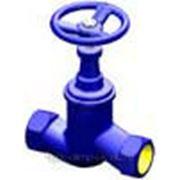 Вентиль запорный чугунный резьбовой V201, DN 10-50, PN 1,6 МПа фото