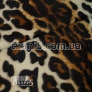 Ткань Мех звери ( леопард ) 2675 фото