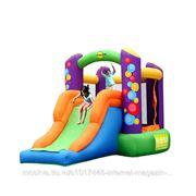 """HAPPY HOP Батут надувной Happy Hop """"Combo Bouncer with Slide"""" для двух детей, medium size, от 3-х лет"""