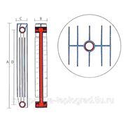 Биметаллическиe радиаторы 350-80 Elsotherm фото