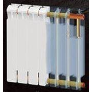Радиатор бимет. монолит RIFAR 500 - 12 секций фото