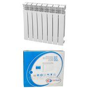 Биметаллический радиатор ST RT10-500A1-8 фото