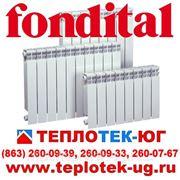 Радиаторы отопления алюминиевые, биметаллические Fondital/ Фондитал (Италия) фото