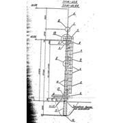 Мачта прожекторная ПМЖ-22,8 типовой проект 3.407.9-172 фото