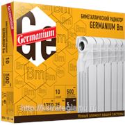 Радиатор биметалл Germanium 500/80 фото
