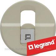 Legrand 66235 Панель лицевая Celiane pозетка RJ45 UTP кат.6, сл. кость.