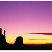 Инфракрасный стеклянный настенный обогреватель Пион Thermo Glass ПН-09 Рассвет в пустыне фото